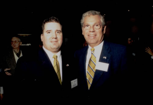 Governor Carcieri with Steve Florio
